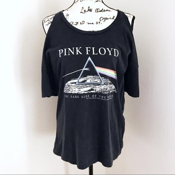 f316a957 Tops | Pink Floyd Dark Side Of The Moon Open Shoulder Tee | Poshmark